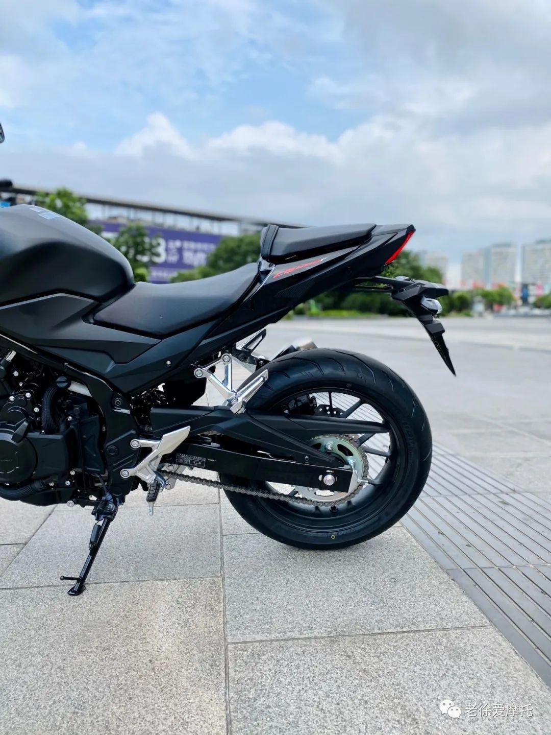 本田中排车型 - CB400F 入门级街车 实车介绍!-第58张图片-春风行摩托车之家