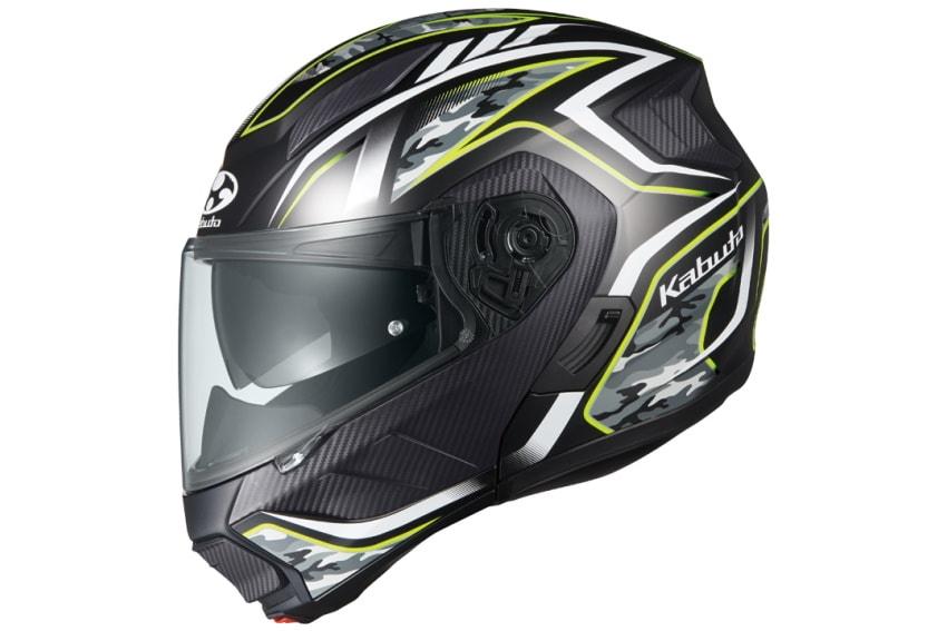 OGK推出RYUKI揭面盔首款彩绘「ENERGY」-第3张图片-春风行摩托车之家