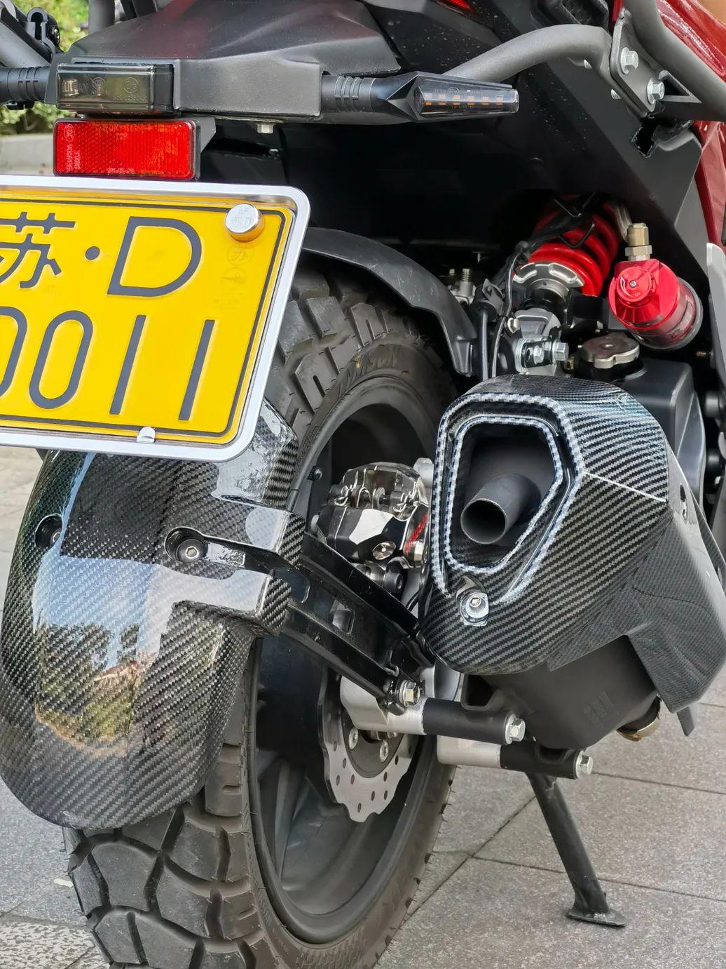最美女骑团子KPV改装完结篇!-第8张图片-春风行摩托车之家