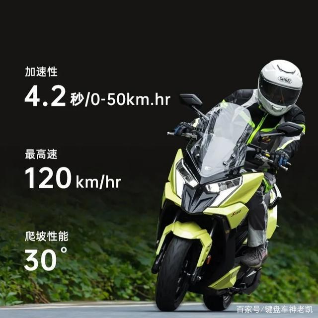 售价1.88w,光阳内地首款水冷150踏板Racing X150上市-第5张图片-春风行摩托车之家