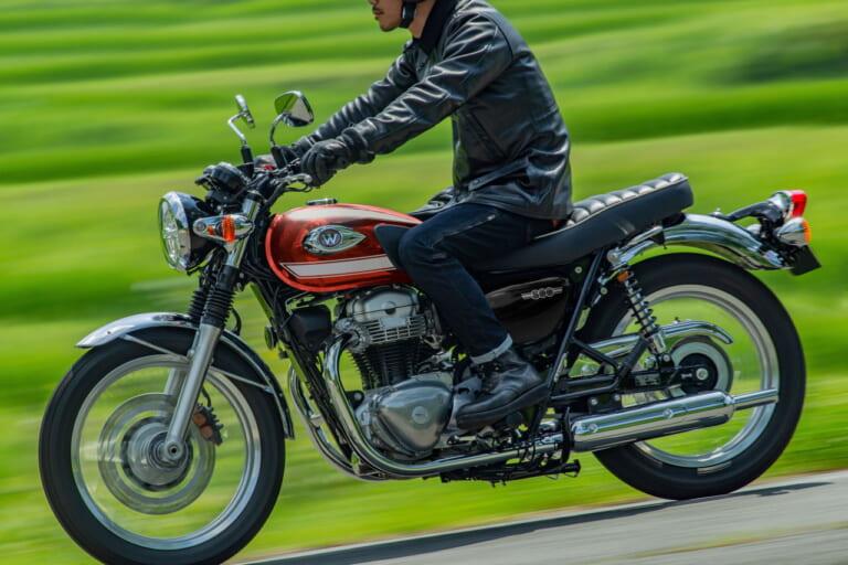 东洋的经典旗帜 川崎KAWASAKI 2022款「W800」新色推出-第1张图片-春风行摩托车之家