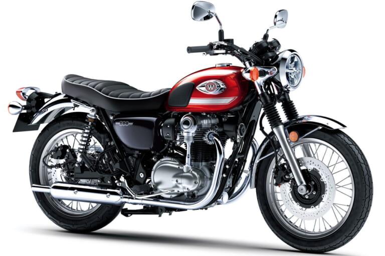 东洋的经典旗帜 川崎KAWASAKI 2022款「W800」新色推出-第4张图片-春风行摩托车之家