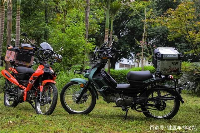 越野弯梁、战斗弯梁、挎子弯梁,嘉陵发布COCO系列多款潮玩新车-第4张图片-春风行摩托车之家