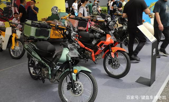 越野弯梁、战斗弯梁、挎子弯梁,嘉陵发布COCO系列多款潮玩新车-第3张图片-春风行摩托车之家